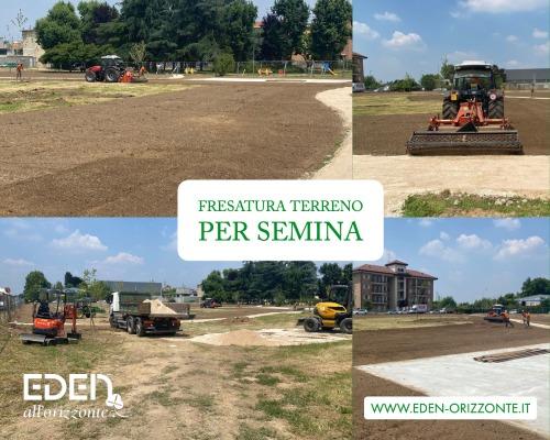 fresatura terreno per semina