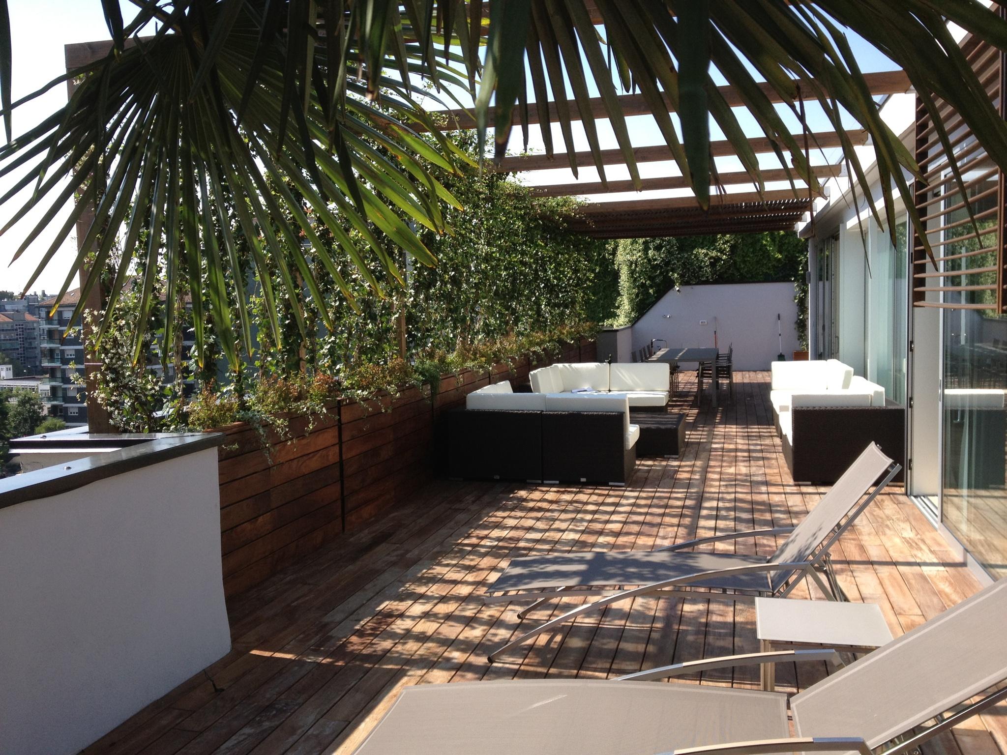 Eden progetta realizza terrazzi fiori piante